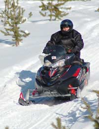 Snowmobiling Environmental Impact Snow